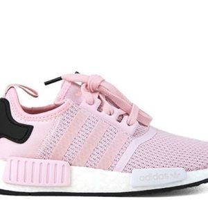 Adidas NMD R1 clear pink running shoes